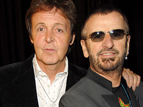 Paul McCartney and Ringo Starr